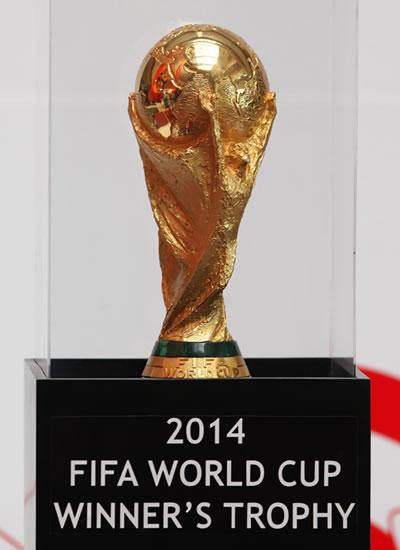 Trofeo de la Copa Mundial de de la FIFA. Foto: EFE