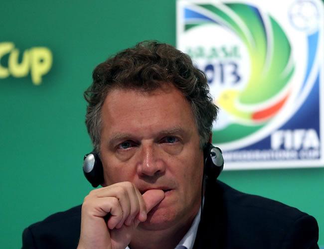 El secretario general de la FIFA, Jerome Valcke. Foto: EFE