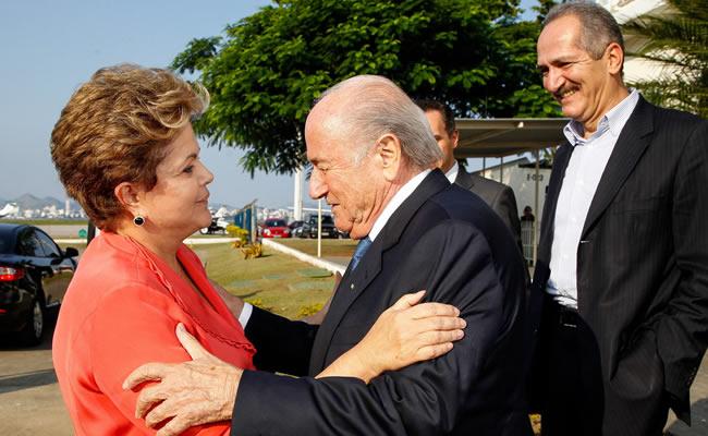 Rousseff desiste de ir a final entre Brasil y España