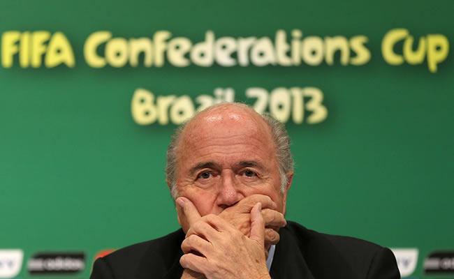 El presidente de la FIFA, Joseph Blatter. Foto: EFE