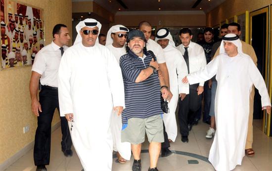 Diego Armando Maradona. Foto: EFE
