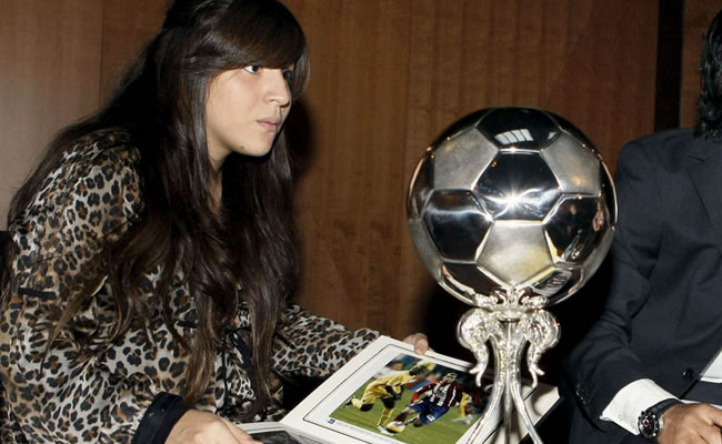 Giannina Maradona, hija de Diego Maradona. Foto: EFE