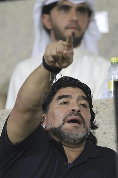 Diego Armando Maradona. EFE/Archivo