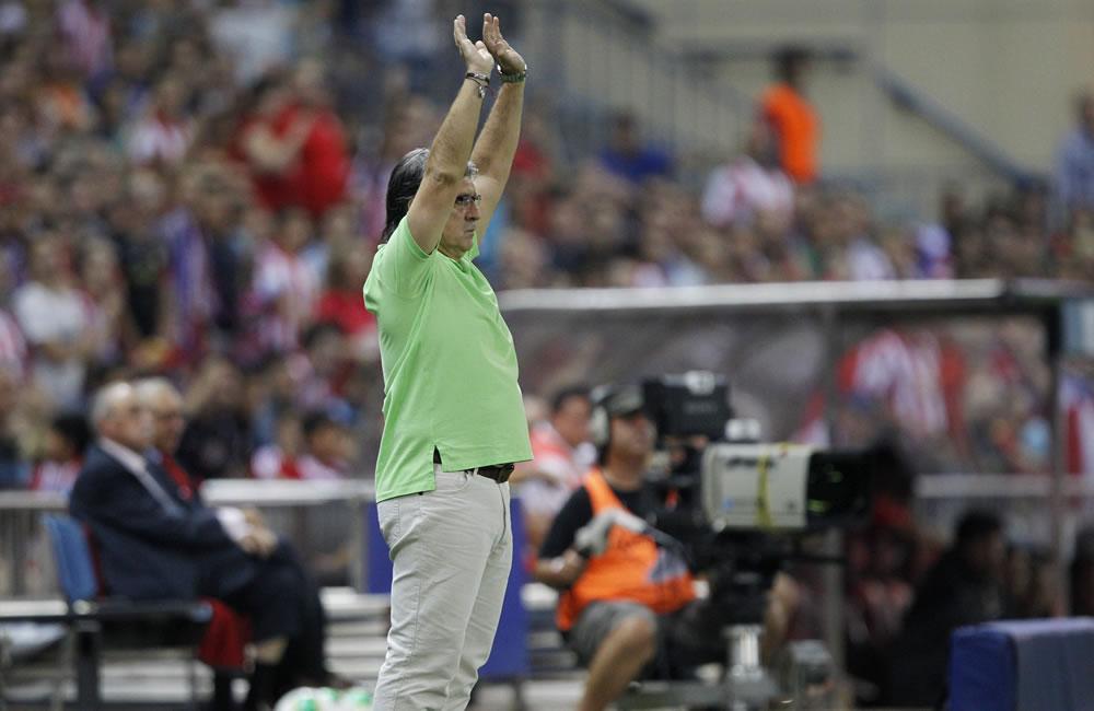 """El entrenador argentino del FC Barcelona, Gerardo """"Tata"""" Martino. Foto: EFE"""