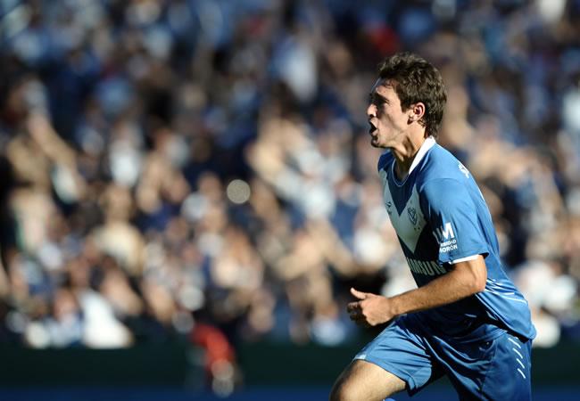Vélez Sarsfield recibirá a Belgrano de Córdoba por la Sudamericana. EFE/Archivo