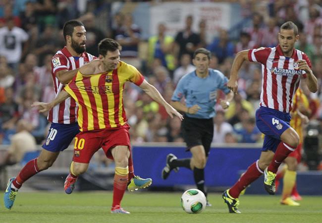 El Camp Nou define la Supercopa con Messi en el once. Foto: EFE