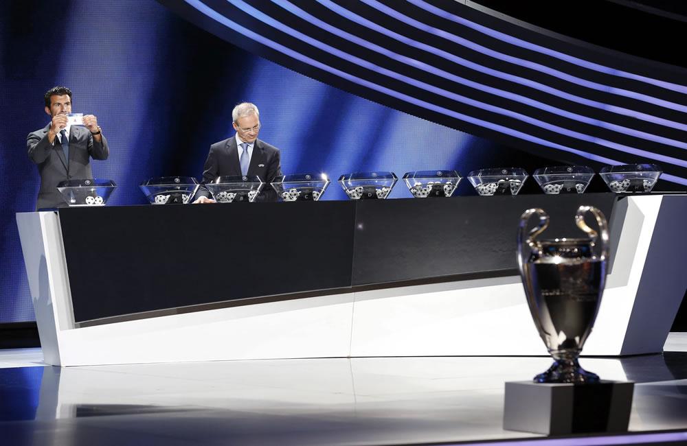 Definidos los grupos en la Liga de Campeones