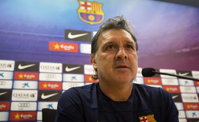El entrenador del Barcelona, el argentino Gerardo 'Tata' Martino. Foto: EFE
