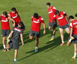 Real Sociedad-Atlético, duelo de Liga de Campeones en Anoeta