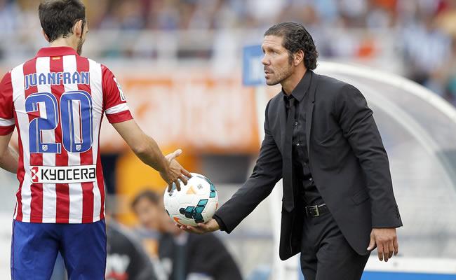 El entrenador argentino del Atlético de Madrid, Diego Pablo Simeone. Foto: EFE