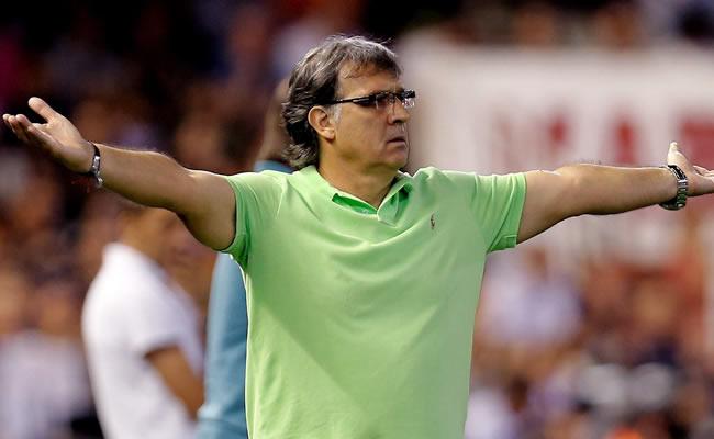 El entrenador del FC Barcelona, el argentino Gerardo