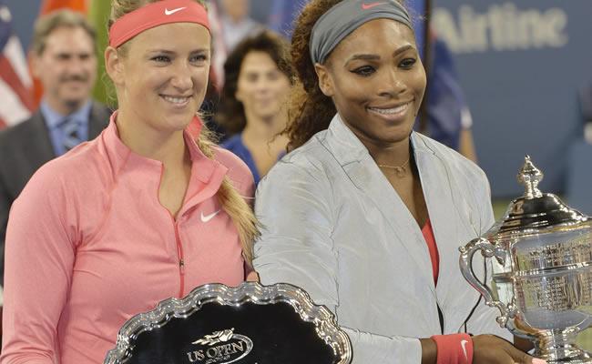 La final femenina entre Victoria Azarenka y Serena Williams del Abierto de los Estados Unidos. Foto: EFE
