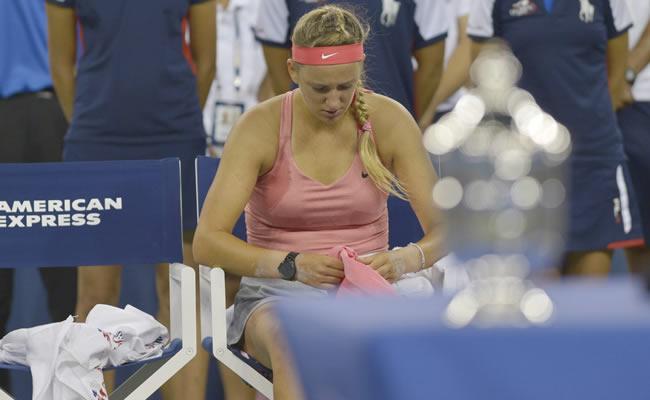 La tenista bielorusa Victoria Azarenka semifinalista del Abierto de los Estados Unidos. Foto: EFE