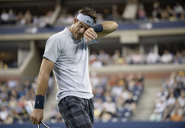 Negativa: Juan Martín del Potro no quiso representar a Argentina este año en la Copa Davis. Foto: EFE