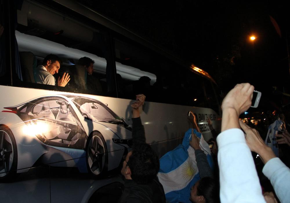 Uruguay espera a la Argentina y a sus hinchas. Foto: EFE