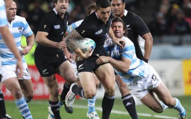 Nueva Zelanda derrotó a la Argentina y mantuvo su invicto. Foto: EFE