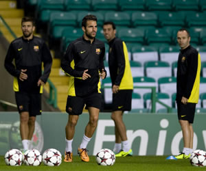 El Barça se mide sin Messi a un Celtic que confía en Samaras