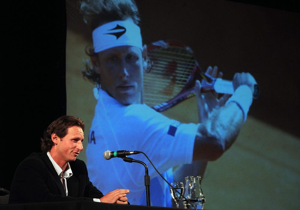 El argentino David Nalbandian anunció que se retirará después de enfrentarse con el español Rafael Nadal. Foto: EFE