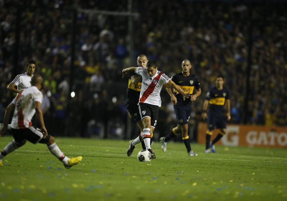Un posible virus de paperas pone en alerta a la plantilla de Boca Juniors. Foto: EFE