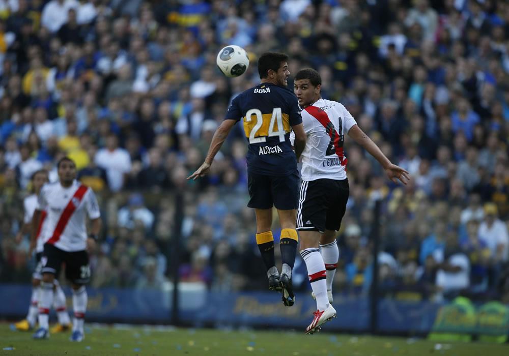 El superclásico River-Boca acapara la atención en el fútbol argentino. Foto: EFE
