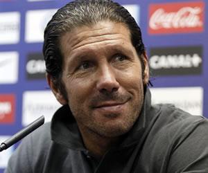 """Simeone: """"Mañana son tres puntos como en el Bernabéu, igual"""""""