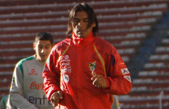 El portero de la selección boliviana, Sergio Galarza. Foto: ABI