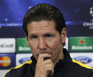 """Simeone: """"Partido a partido queremos llegar donde todos sueñan"""""""