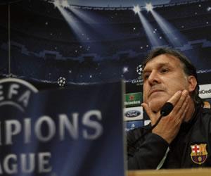 """Martino ironiza: """"¿El Milán en crisis? Nosotros también lo estamos"""""""
