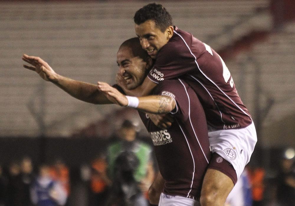 Lanús elimina a River y se clasifica a la semifinal de la Sudamericana