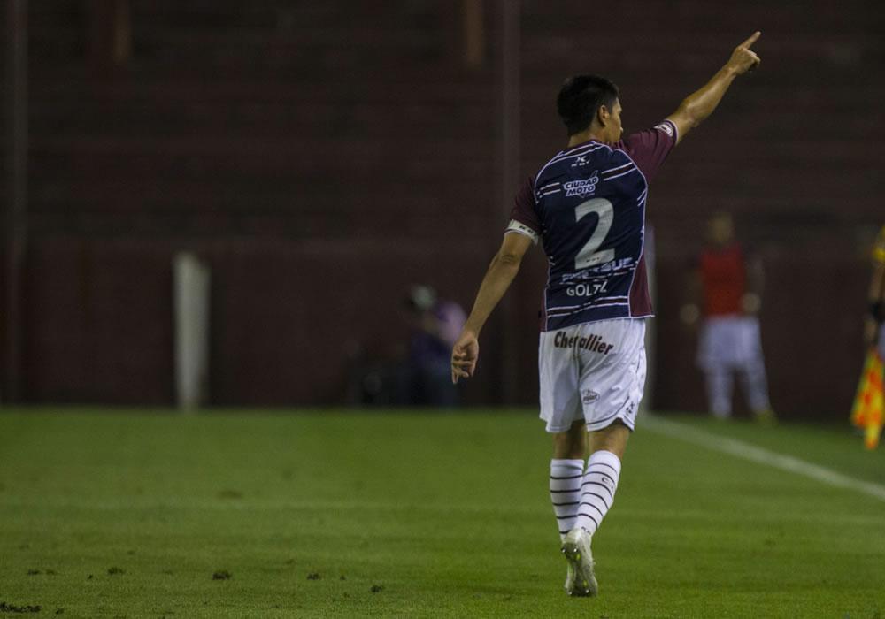 Lanús visita a Ponte Petra en el primer juego por la Copa Sudamericana 2013. Foto: EFE