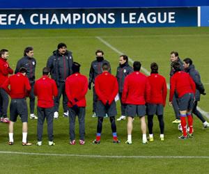 Trámite para el Atlético de Simeone y partido decisivo para el Oporto