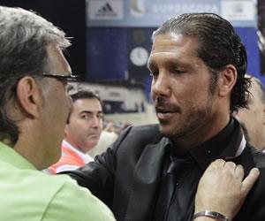 """Simeone: """"Martino está haciendo un trabajo impresionante"""""""