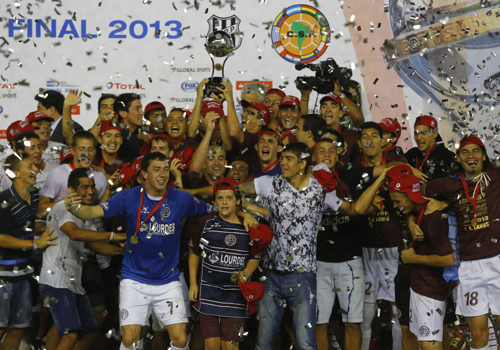 Lanús da el sexto título de la Copa Sudamericana a Argentina