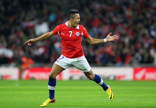 Chile estará en uno del grupos más difíciles del Mundial. Foto: EFE
