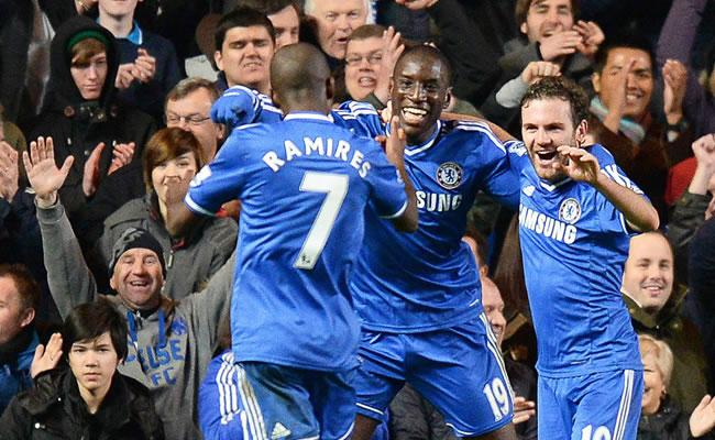 Chelsea toma el mando y el Everton se sitúa en Liga de Campeones. Foto: EFE