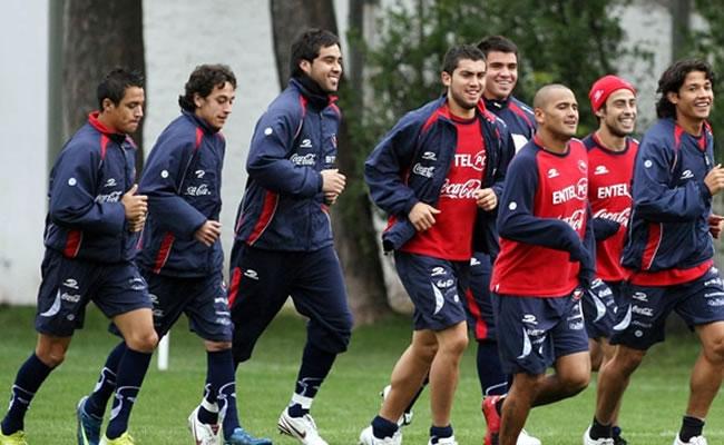 Chile recibe la Copa del Mundo que podrá ser visitada en el Estadio Nacional. Foto: EFE