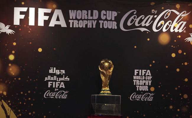 La Copa del Mundo llega a Argentina como parte de gira mundial. Foto: EFE