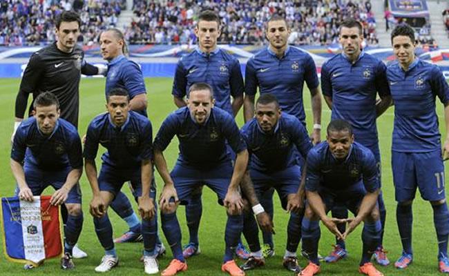 Paraguay, Noruega y Jamaica, amistosos de Francia para preparar el Mundial. Foto: EFE