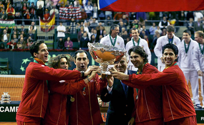 España enfila el duelo con Alemania. Foto: EFE