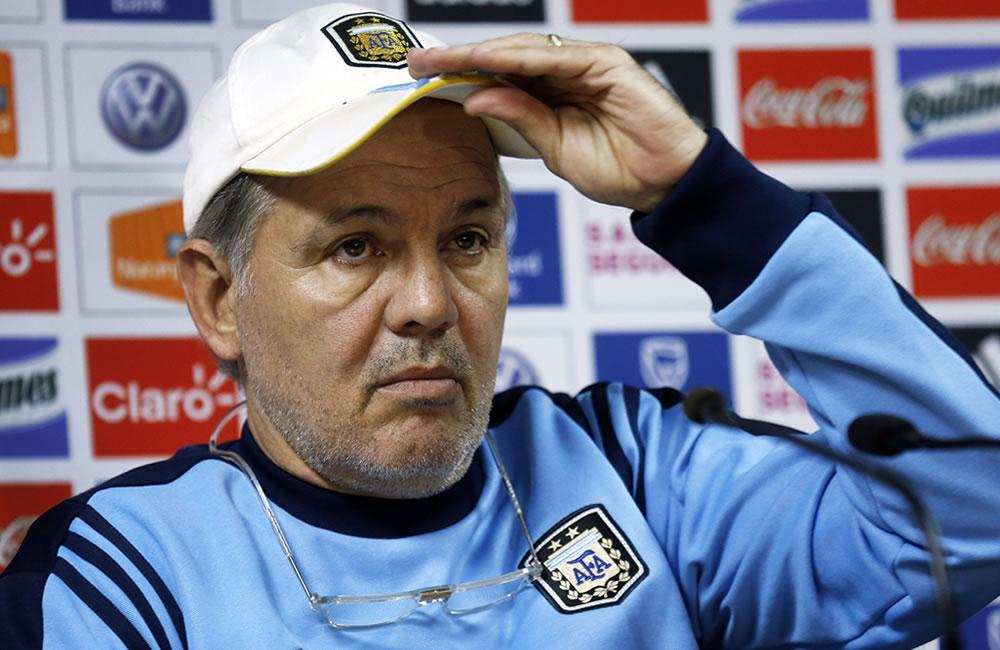 Alejandro Sabella, DT de la selección Argentina. Foto: EFE
