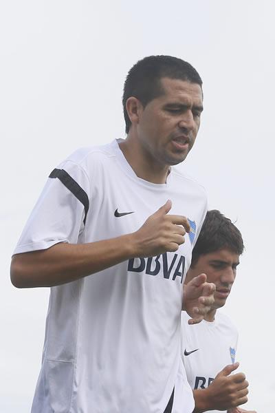 Juan Román Riquelme (Boca Juniors). EFE/Archivo