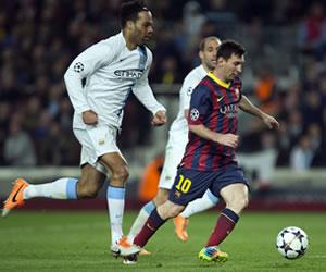 "La prensa británica atribuye al ""deslumbrante"" Messi la victoria del Barça"