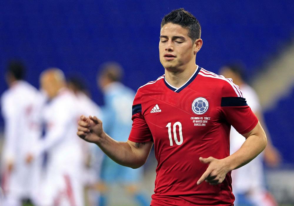 Argentina es tercera y Colombia quinta en el ranking de la FIFA. Foto: EFE
