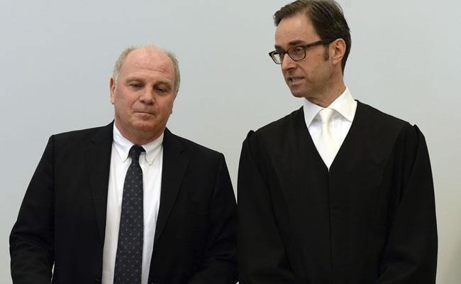 La condena contra Hoeness es firme e ingresará en prisión en unas semanas. Foto: EFE