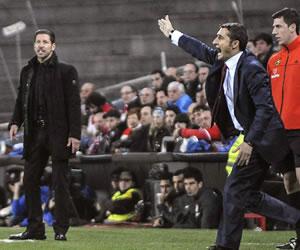 """Simeone: """"Seguimos líderes, pero con la misma tranquilidad"""""""