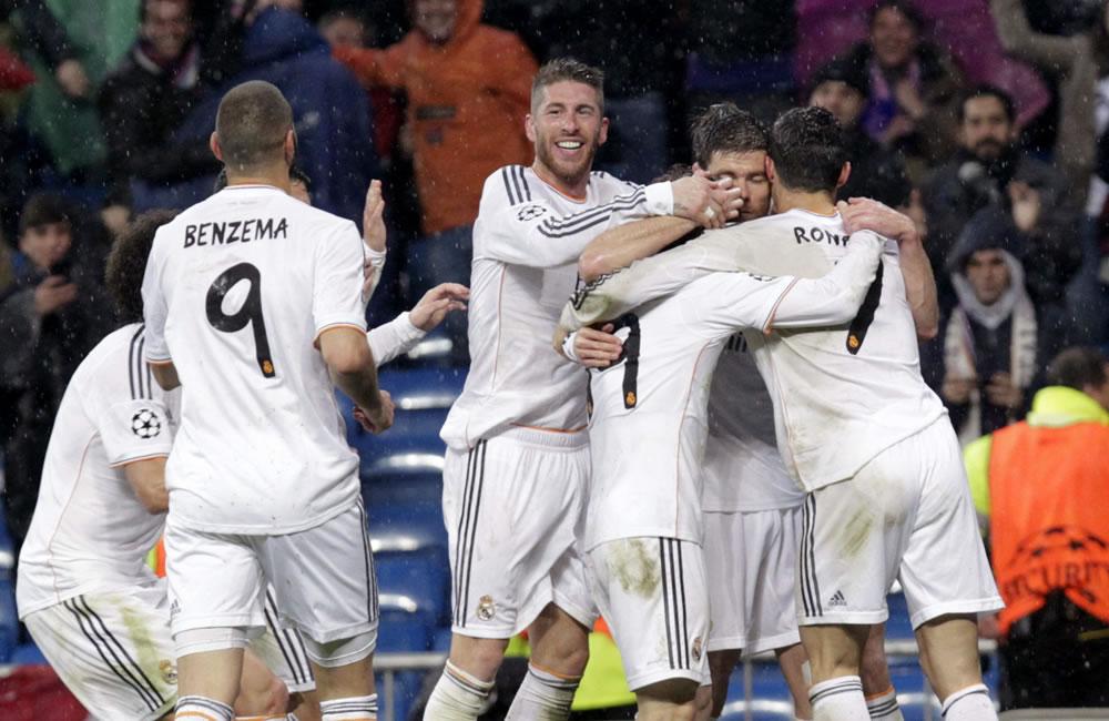 Real Madrid completa la primera parte de la venganza