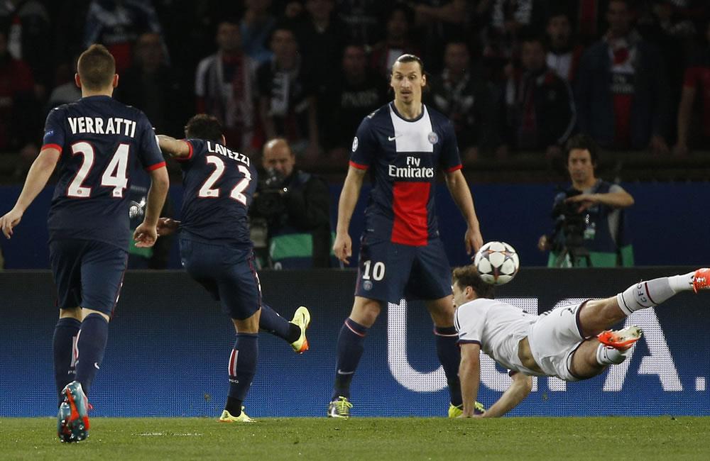 Lavezzi y Pastore dejan al PSG a un paso de las semifinales