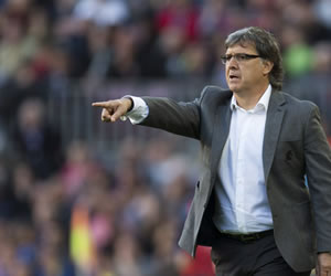 Martino atribuye la discreta victoria al desgaste de la eliminatoria europea