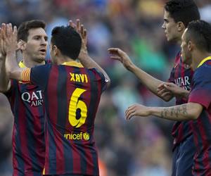 El Barça vive el peligro de jugar al ralentí