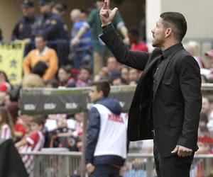 """Simeone: """"La afición es muy importante en este tramo final"""""""